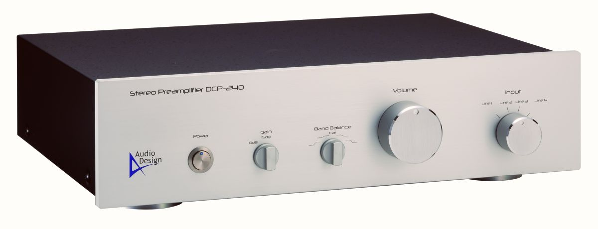 オーディオデザイン社プリアンプDCA-240の外観