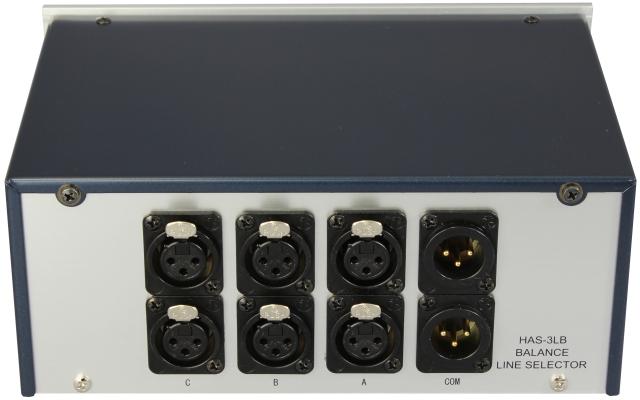 バランスラインセレクターHAS-3LB(3F1M)背面