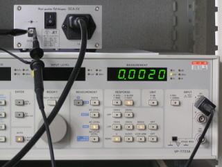 出力電圧のノイズ測定