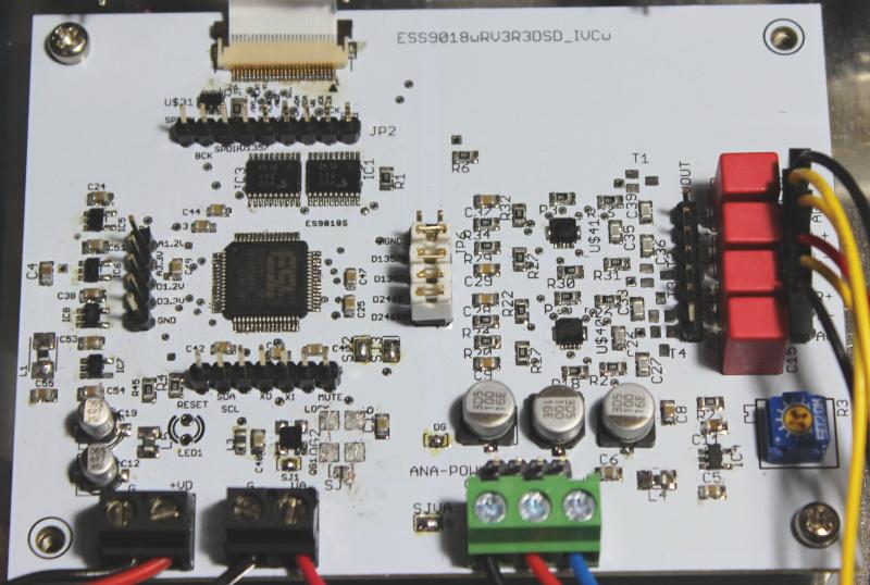 ES9018DACボード