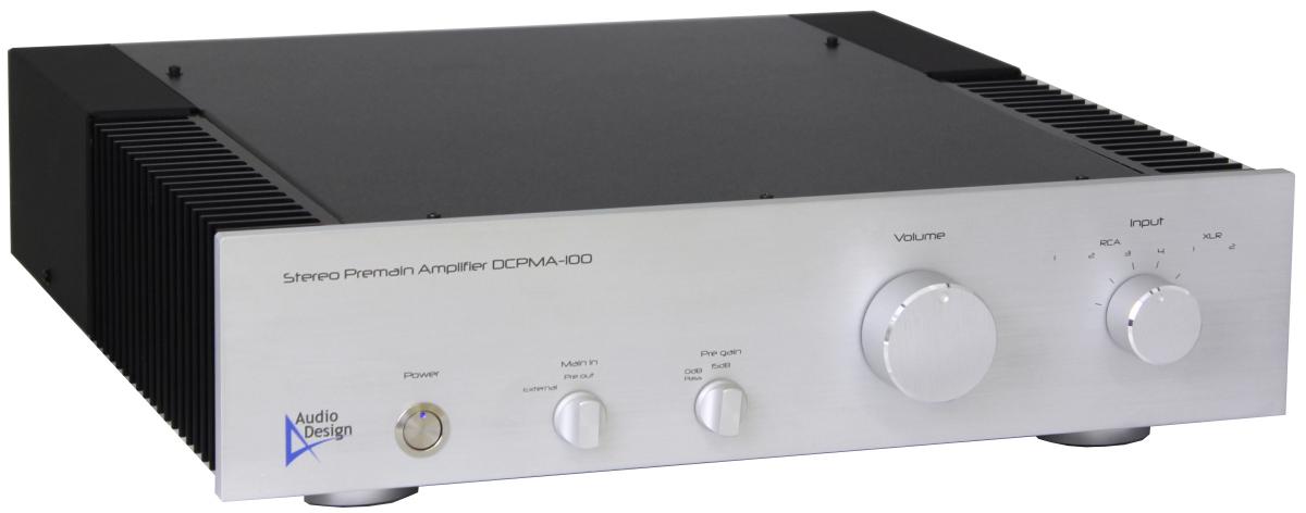 プリメインアンプDCPMA-100の外観