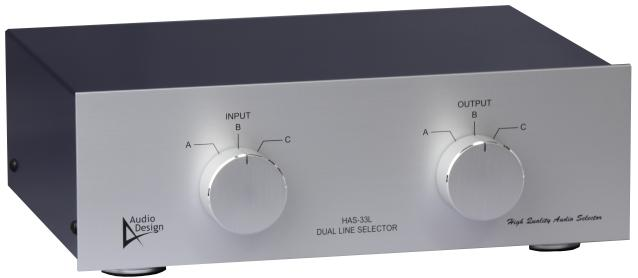 デュアルラインセレクターHAS-33L外観